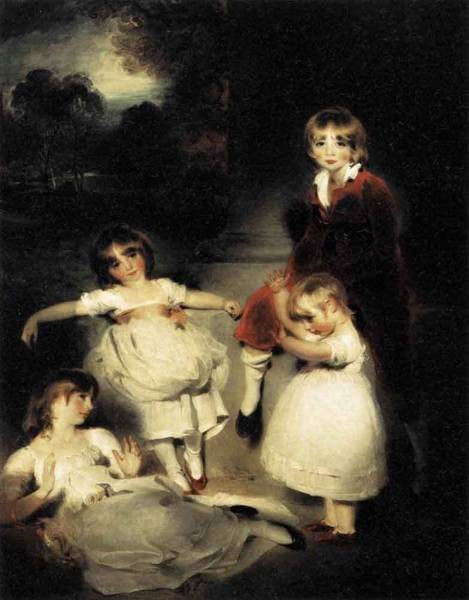 LAWRENCE Sir Thomas Portrait Of The Children Of John Angerstein